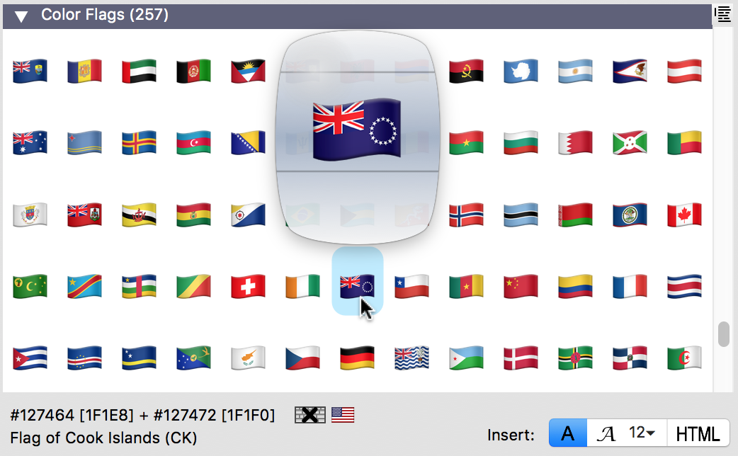 Emoji Country Flags