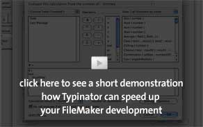 insert FileMaker functions easily